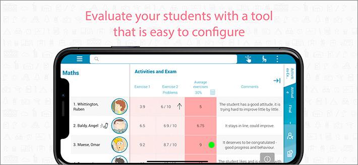 Additio Classroom Management iPhone and iPad App Screenshot