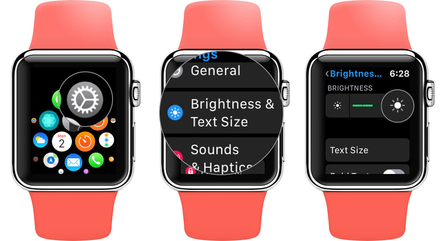 Adjust Apple Watch Screen Brightness