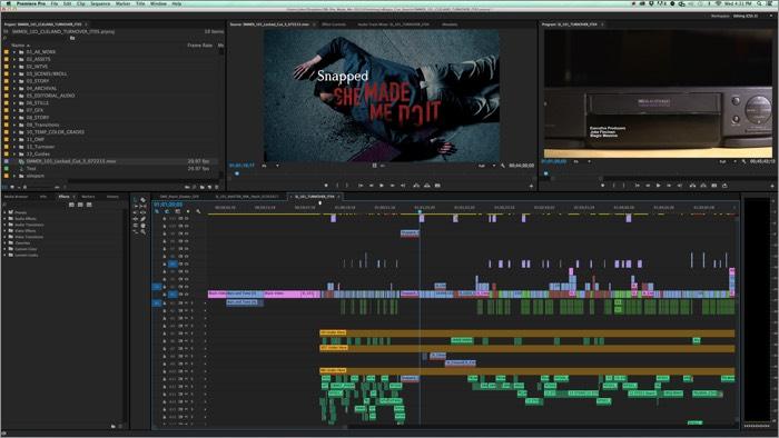 Программное обеспечение для редактирования видео Adobe Premiere Pro