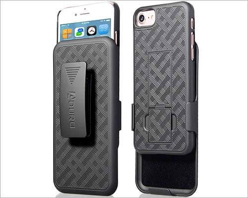 Aduro iPhone 7 Belt Clip Holster Case