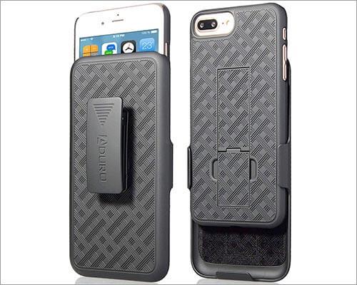Aduro iPhone 8 Plus Belt Clip Holster Case