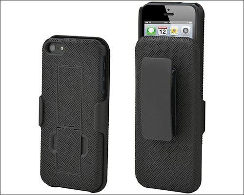 Aduro iPhone SE, 5s, and iPhone 5 Belt Clip Case