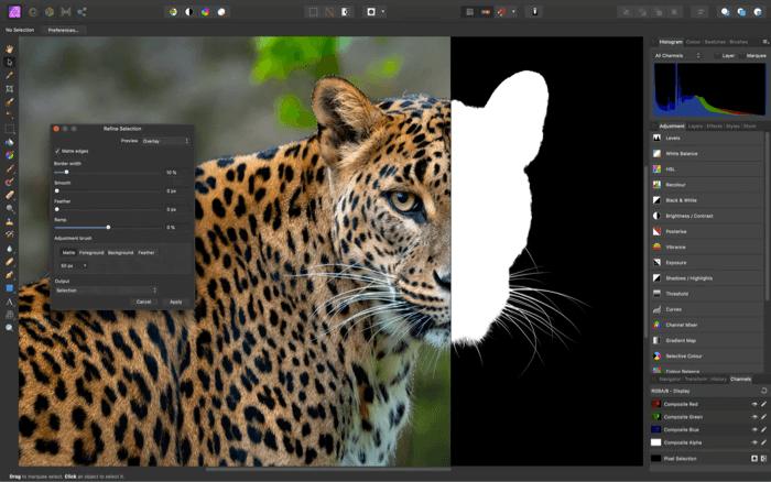 Affinity Photo Editor App for Mac Screenshot