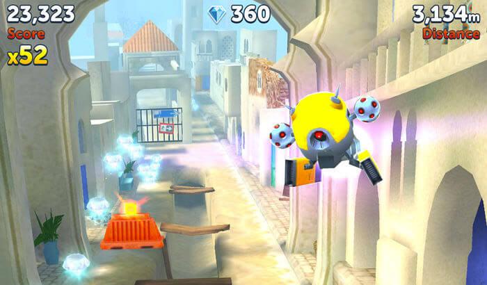 Agent Dash Endless Runner iPhone and iPad Game Screenshot