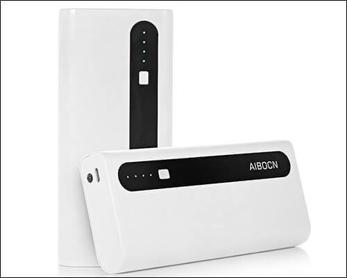 Aibocn 10,000mAh Power Bank for iPhone