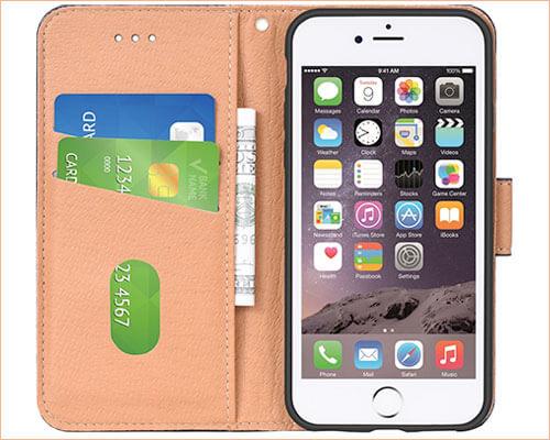 Aicoco Flip Case for iPhone 6-6s