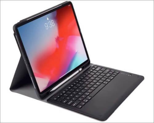 Aidashine iPad Pro 12.9-inch 2020 Keyboard Case