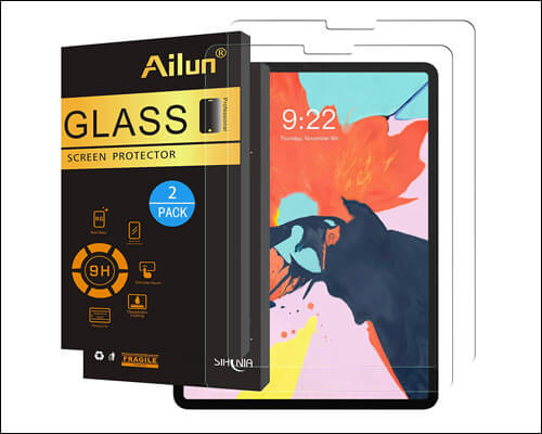 Ailun 11-inch iPad Pro Tempered Glass Screen Protector