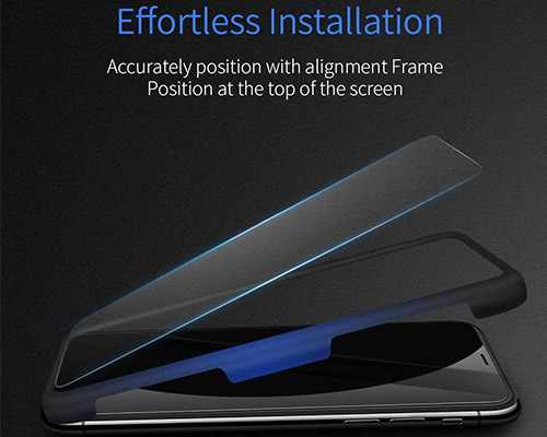 Ainope iPhone Xs Tempered Glass Screen Protector