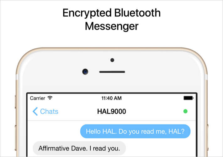 Air Chat Offline Messaging iPhone App
