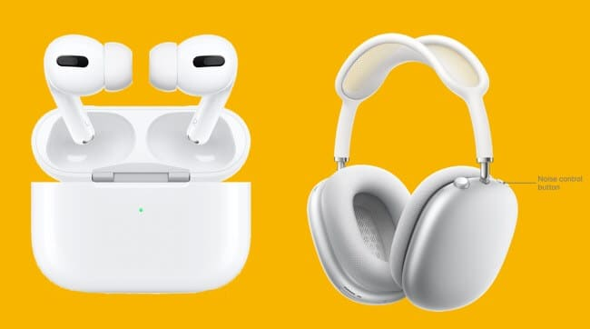 AirPods Max and AirPods Pro Design