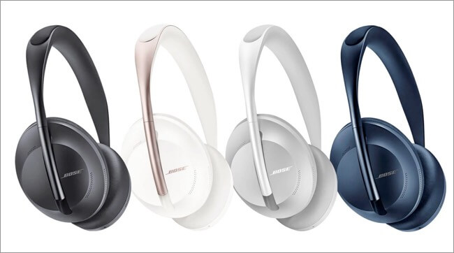 AirPods Max vs Sony WH-1000XM4 vs Bose 700 Colors