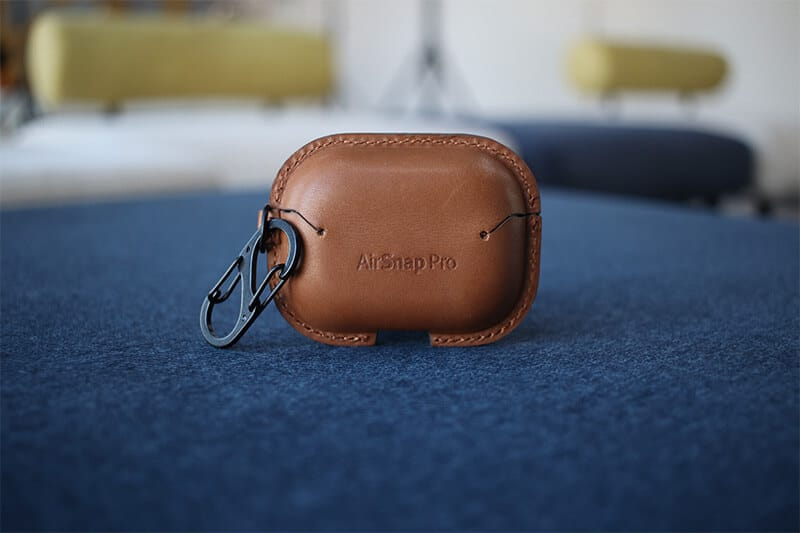 AirSnap Pro Leather Case Carabiner Clip