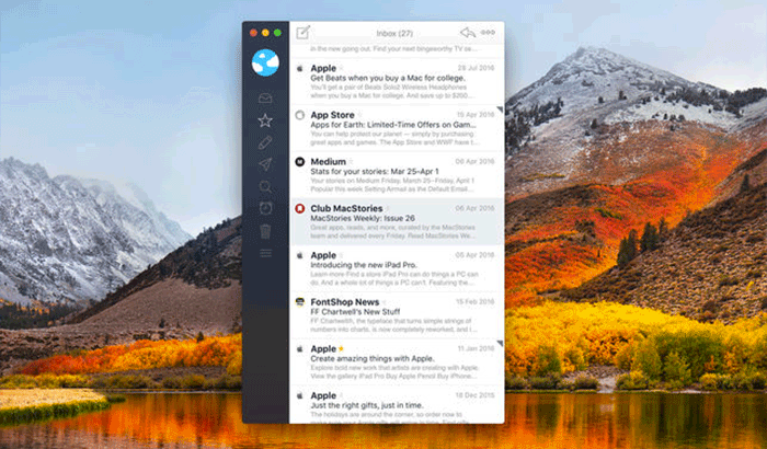 Airmail 3 By Bloop S.R.L Mac App ScreenShot
