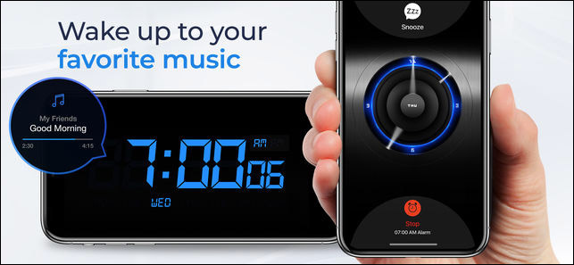 Alarm Clock for Me iPhone and iPad App Screenshot