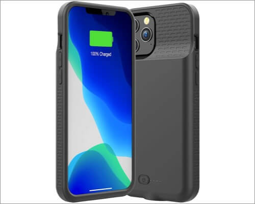 Allezru battery cases for iPhone 12 Pro Max