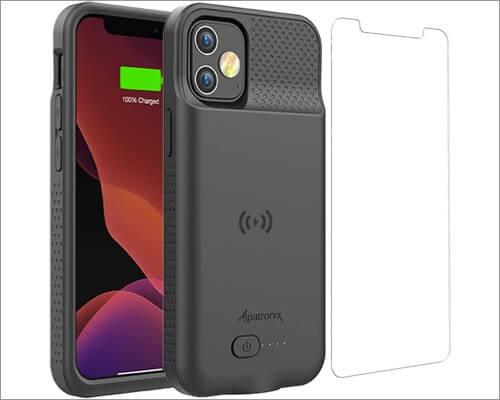 Alpatronix 5000mAh slim battery case for iPhone 12 and 12 Pro
