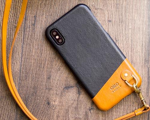 Alto Anello iPhone X Leather Case