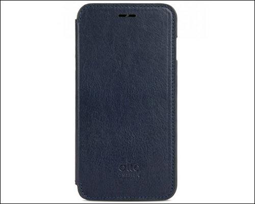 Alto iPhone X Leather Flip Case