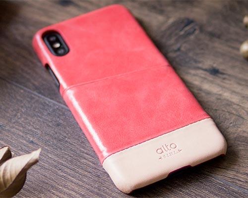 Alto iPhone X Metro Leather Case