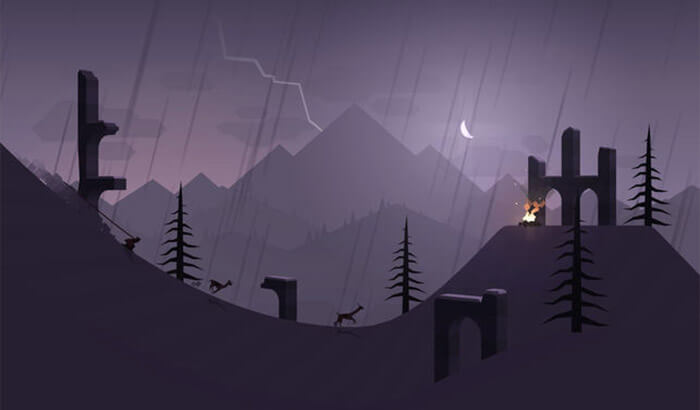 Alto's Adventure Paid iPhone Game Screenshot
