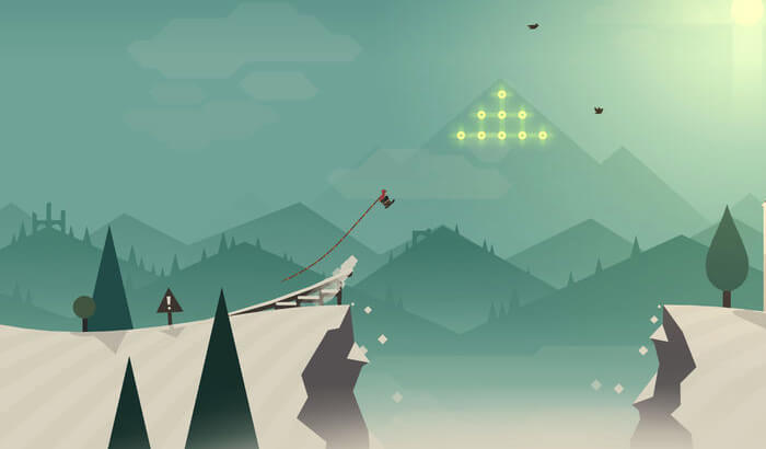 Alto's Adventure iPhone and iPad Game Screenshot