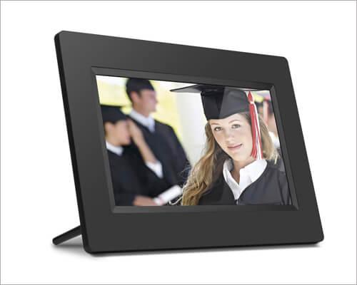 Aluratek Black Digital Photo Frame