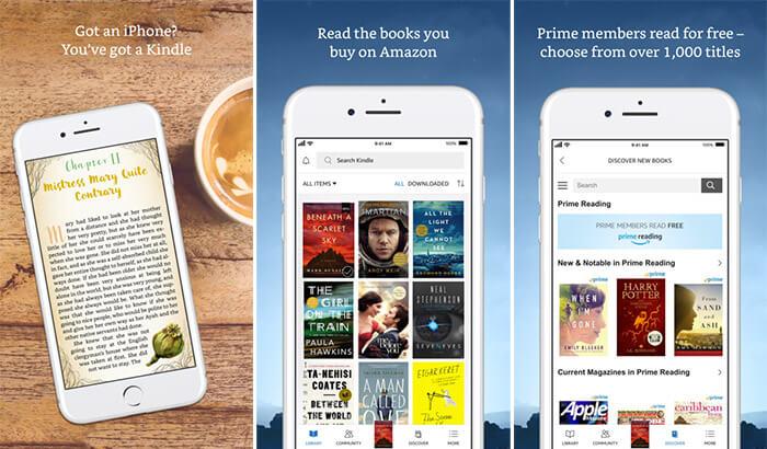 Amazon Kindle iPhone and iPad App Screenshot