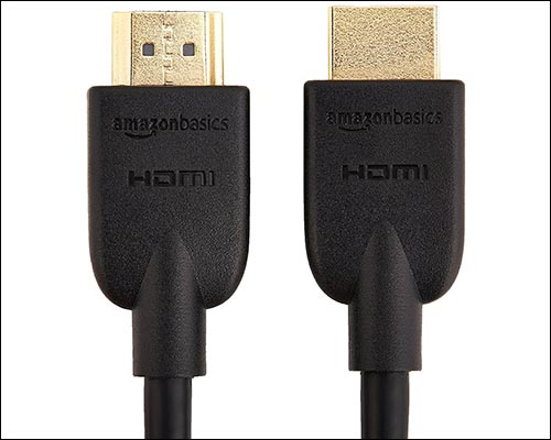 AmazonBasics HDMI Cable for Apple TV
