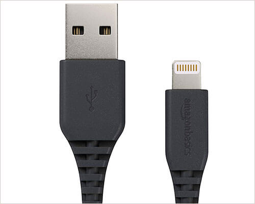 AmazonBasics Short Lightning to USB Cable