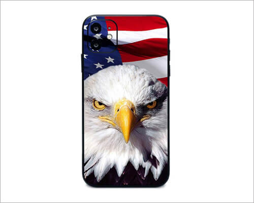 America Strong iPhone 11 Skin Wrap