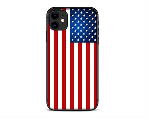 American Flag Merica USA Pride iPhone 11 Skin Wrap