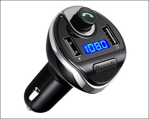 Amir Bluetooth FM Transmitter for iPhone 6 and 6 Plus