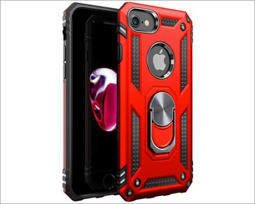 Amuoc iPhone 7 Ring Holder Case