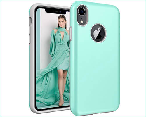 Androgate iPhone XR Wireless Charging Support Case
