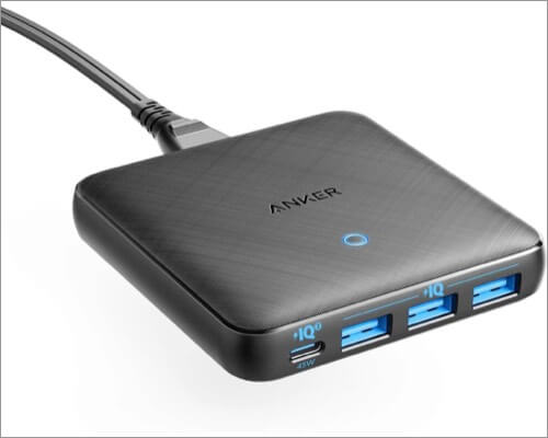 Anker 65W 4 Port GaN Fast Charger Adapter