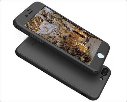 AnsTOP iPhone 8 Plus Thin Case