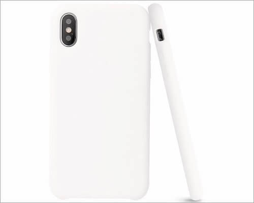AnsTOP iPhone X Wirelss Charging Support Case
