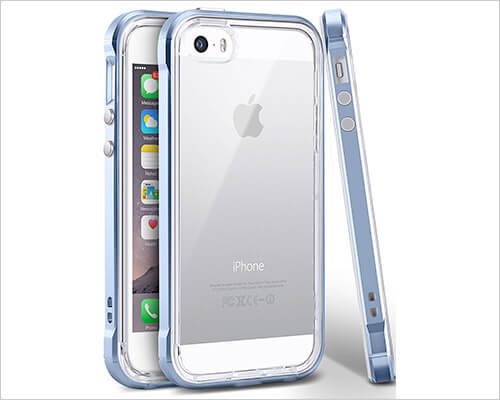 Ansiwee iPhone 5s and iPhone SE Bumper Case
