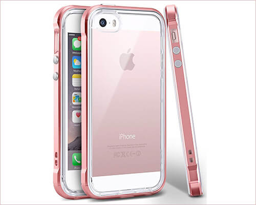 Ansiwee iPhone SE Transparent Case