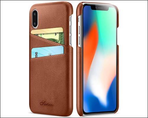 Ansiwee iPhone X Thin Case