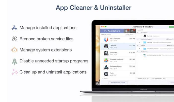 App Cleaner & Uninstaller Mac Cleaner Software Screenshot