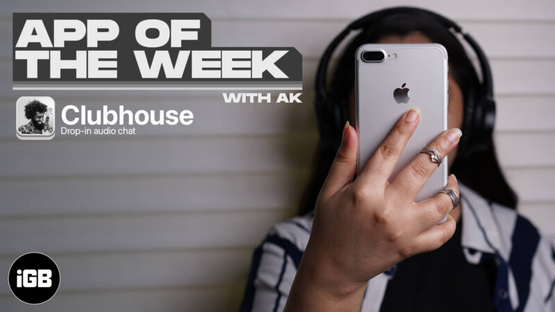 App of the Week Clubhouse Drop-in audio chat