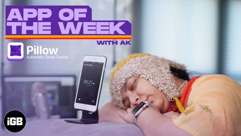 App of the Week Pillow Automatic Sleep Tracker Review