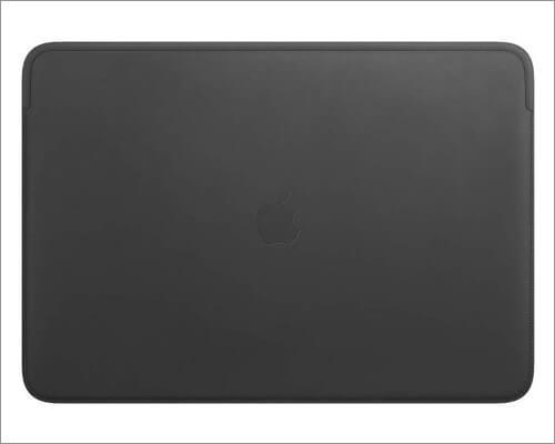 Apple 16-inch MacBook Pro Leather Sleeve