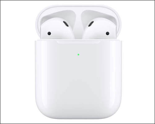 Apple AirPods Siri Compatible Wireless Headphones