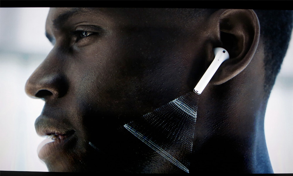 Apple AirPods designed by Jony Ive