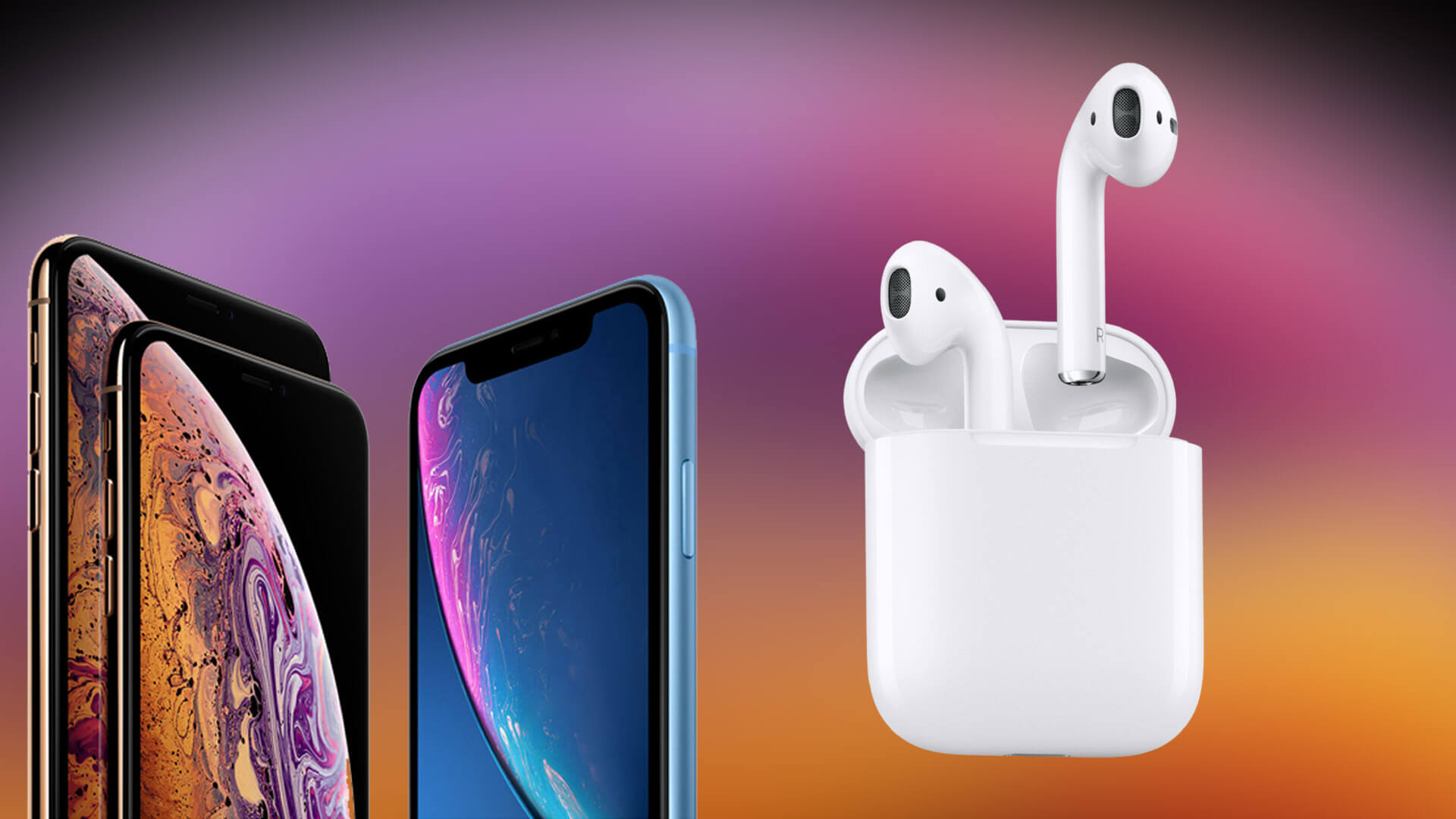 Apple AirPods for iPhone Xs Max, Xs and iPhone XR