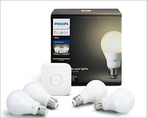 Apple HomeKit Enabled Smart LED Light Bulb from Philips Hue