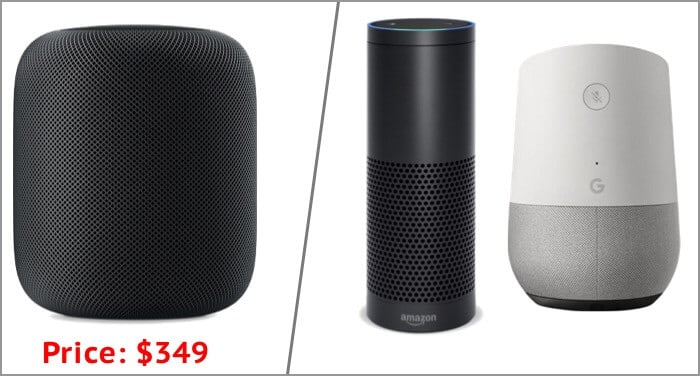 Apple HomePod Pricing at launch time